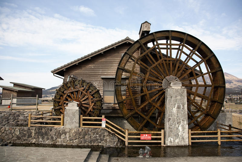 Watermill stock foto's