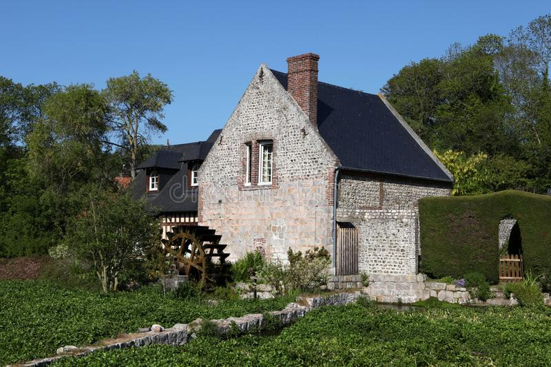 Download Watermill stock image. Image of traditional, green, house - 14578459