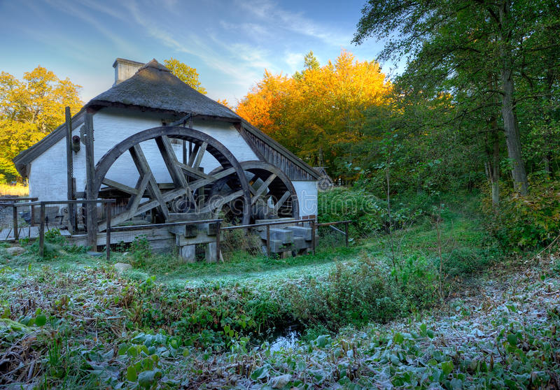 Download Watermill stock photo. Image of frost, potherb, watermill - 16639946