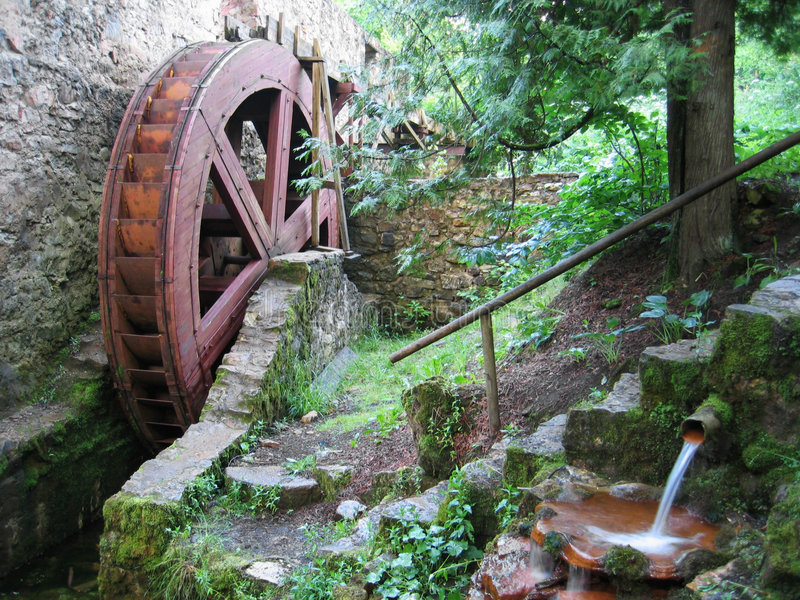 Watermill immagine stock