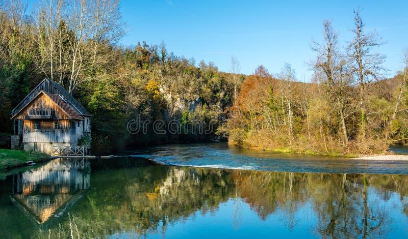 watermill stock afbeelding