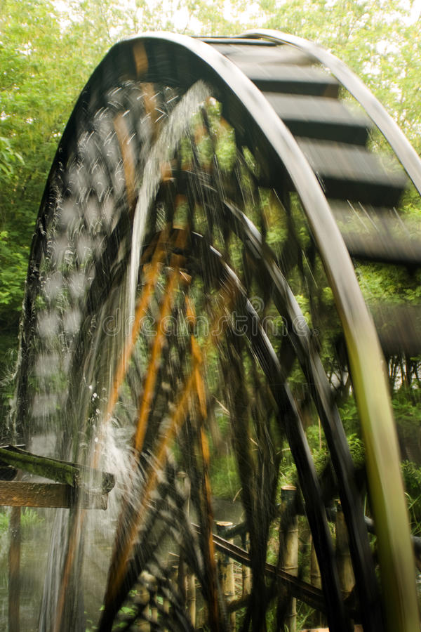 Watermill in action royalty free stock image