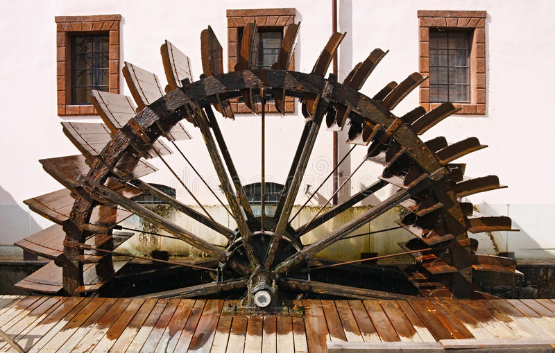 Download Watermill On Chertovka Royalty Free Stock Images - Image: 18068379