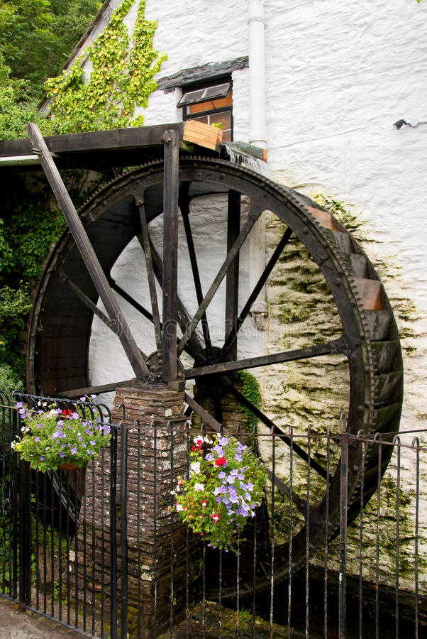 Download Watermill  in Cornwall stock image. Image of tourism - 24591345
