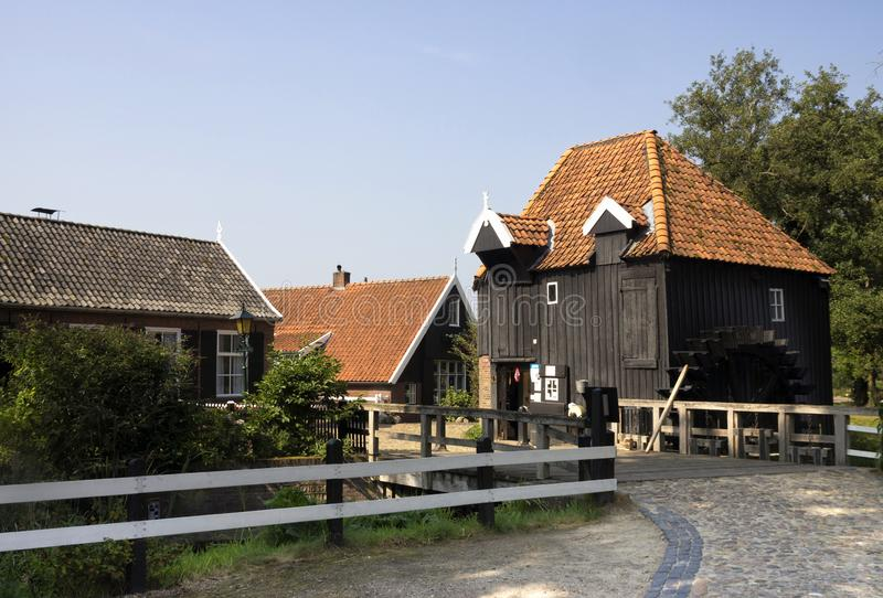 Watermill melina Haller zdjęcie royalty free