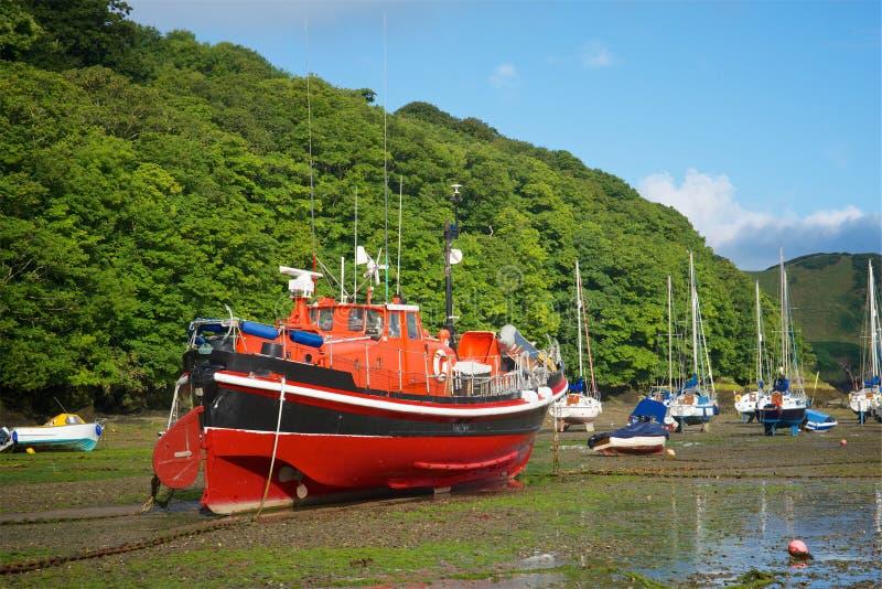 Watermouth-Hafen Nord-Devon Großbritannien lizenzfreie stockfotografie