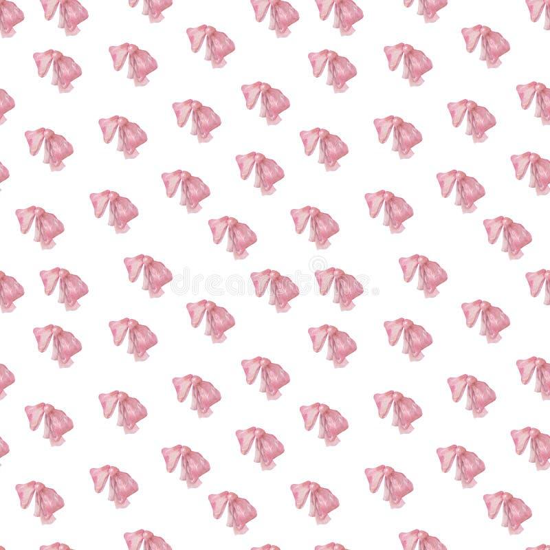 Το κόκκινο Waterolor υποκύπτει το χαριτωμένο εκλεκτής ποιότητας σχέδιο στο άσπρο σκηνικό υποβάθρου για τις διακοπές διακοσμώντας  ελεύθερη απεικόνιση δικαιώματος