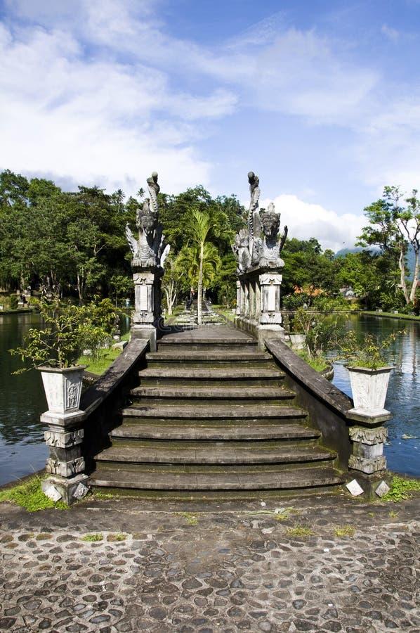 Waterpaleis van Tirta Gangga royalty-vrije stock foto's