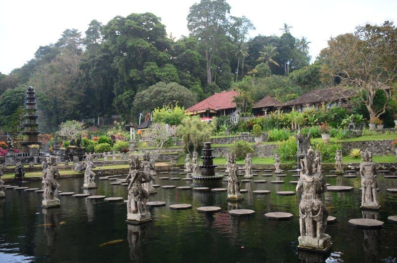 Waterpaleis van Tirta Gangga royalty-vrije stock fotografie