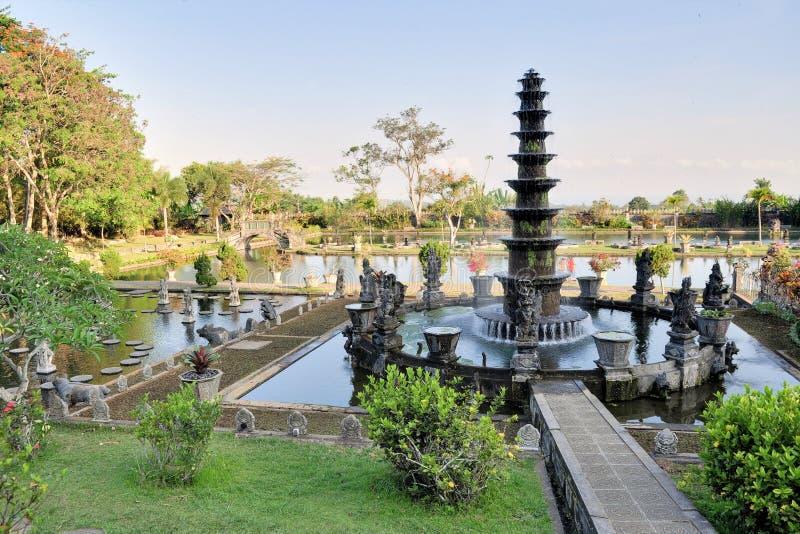 Waterpaleis van Tirta Gangga, Bali, Indonesië royalty-vrije stock afbeelding