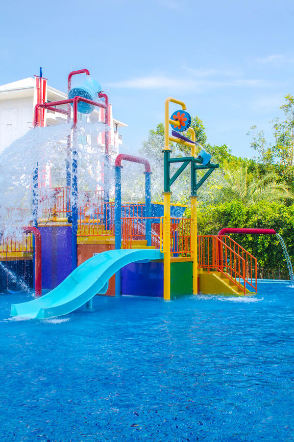 waterpark arkivfoto