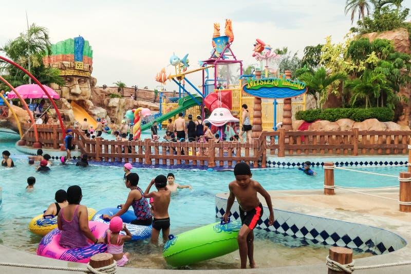 Waterpark stock foto's