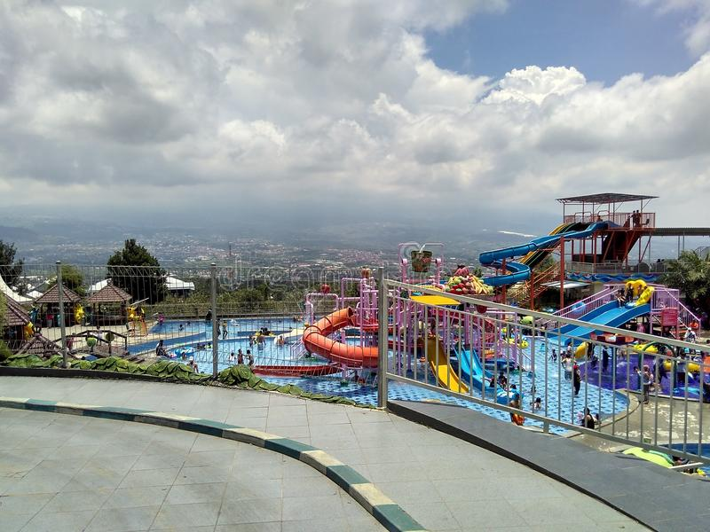waterpark royaltyfria foton