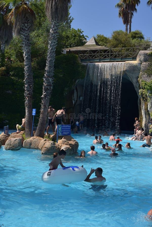 Waterpark Antalya fotos de archivo