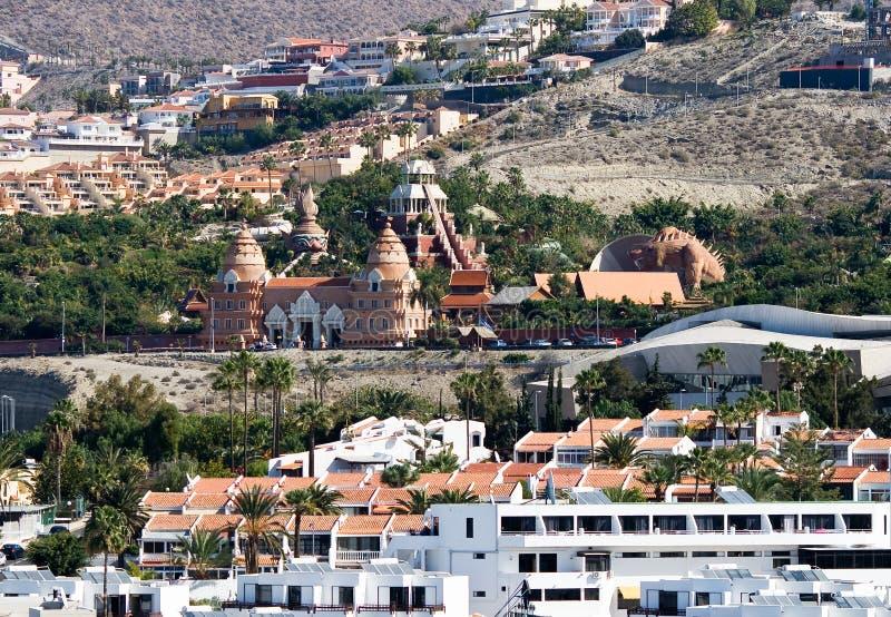 Waterpark de Sião em Tenerife fotografia de stock