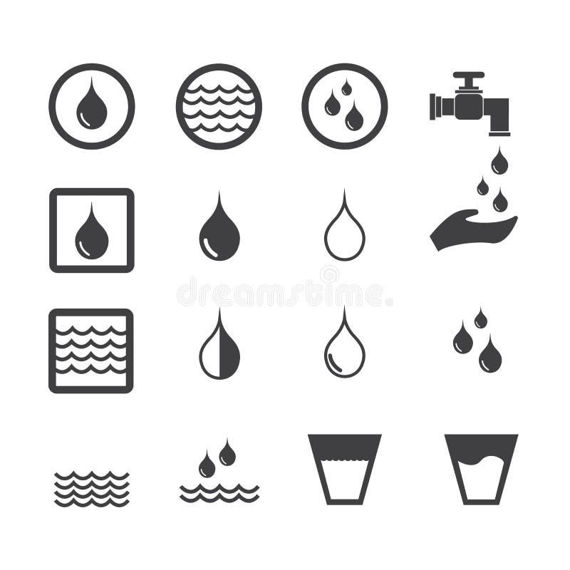 Waterpictogram vector illustratie