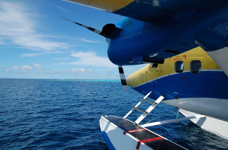 Waterplane imagen de archivo