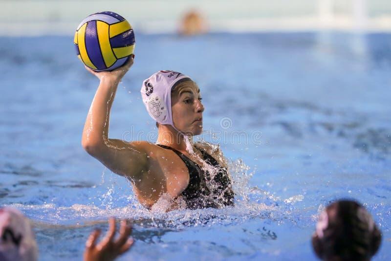 Waterpolo EuroLeague Women Championship Sis Roma vs ZV De Zaan stock images