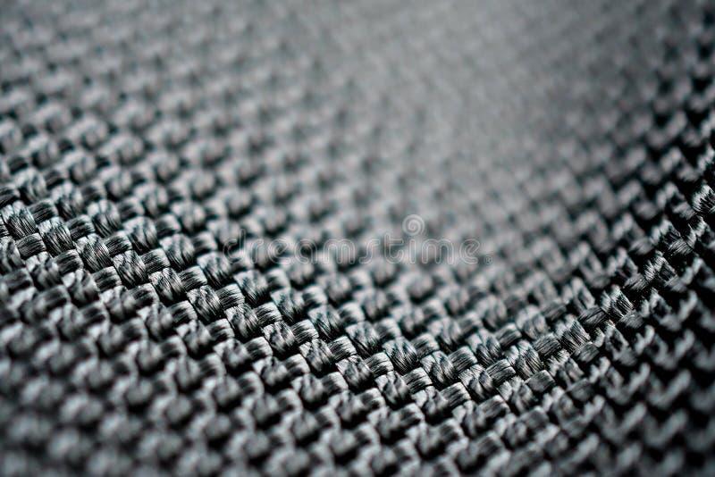 Polyester fabrics macro textures stock image