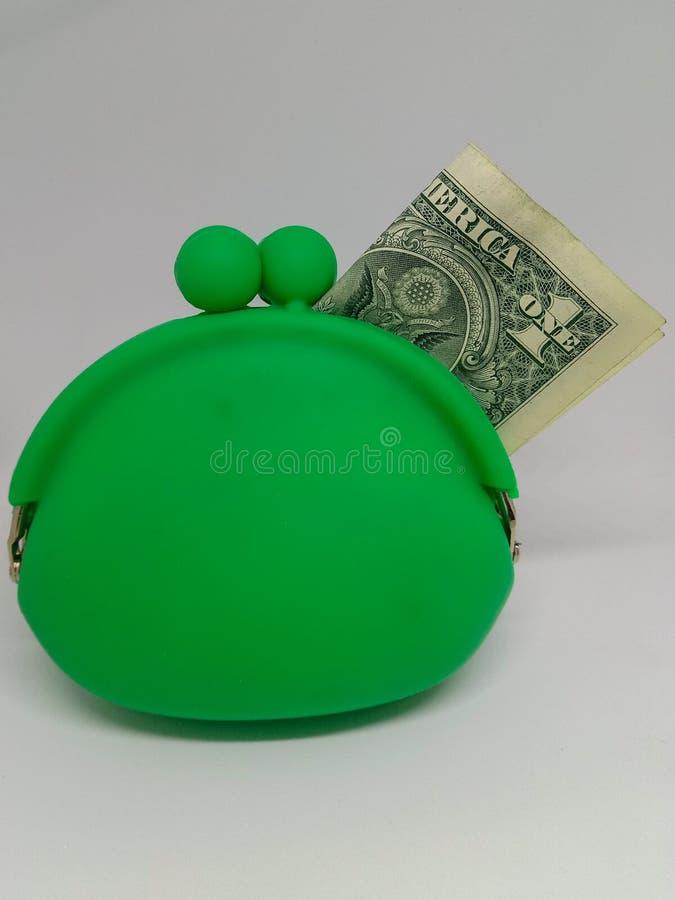 Waterproof green piggy bank. Ndollarn bank finance tare capacity money protection royalty free stock images
