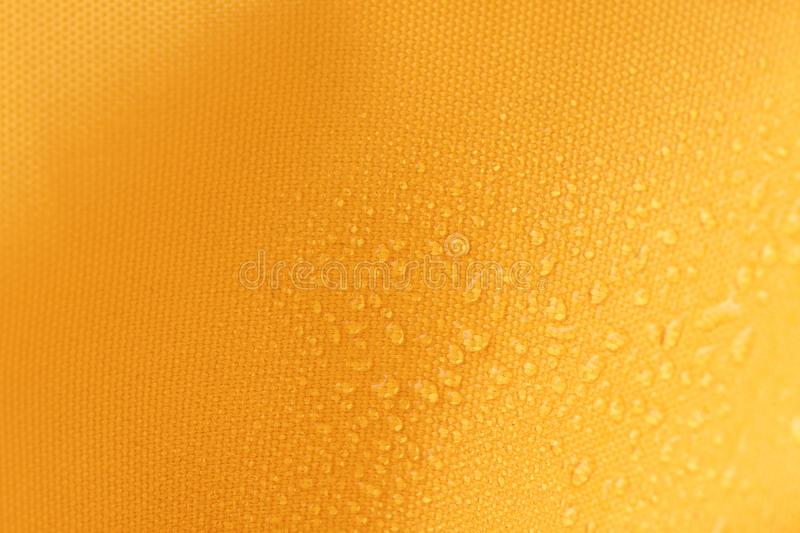 Canvas of Waterproof and water repellent fabric royalty free stock photography