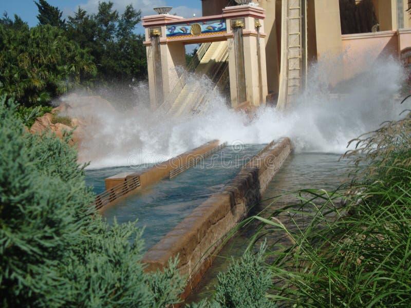 Waterrit stock afbeelding