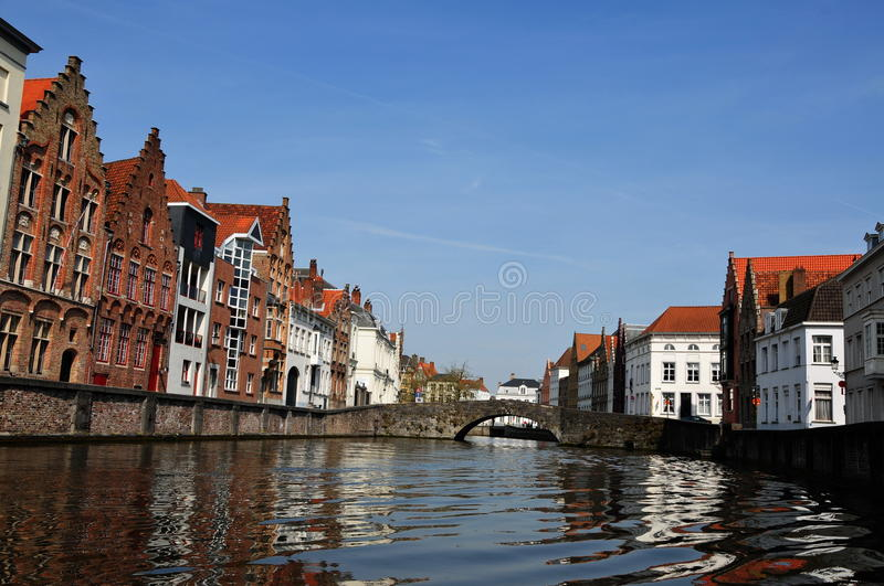 Waters of Bruge stock images