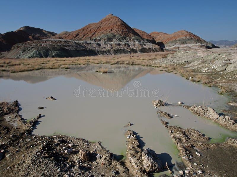Waterschaarste en droogte stock foto