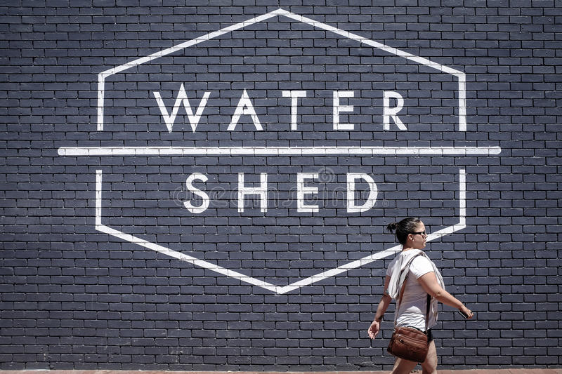 watershed photographie stock