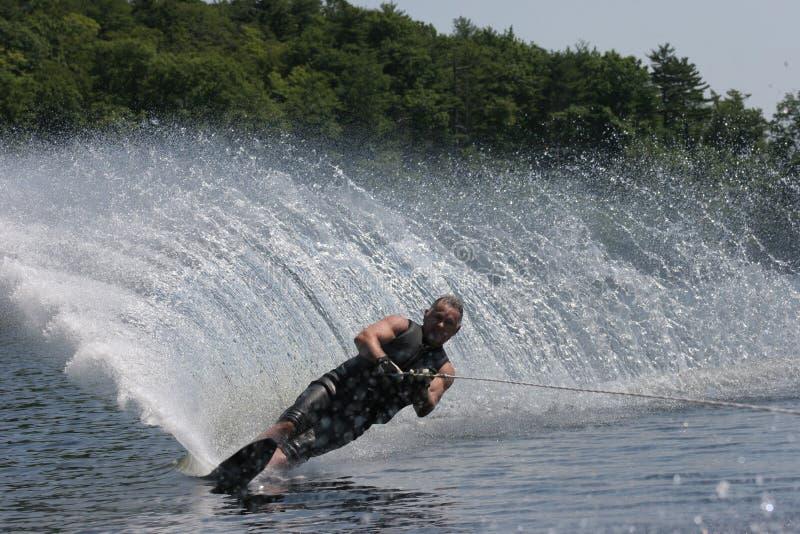 waterskier 库存图片