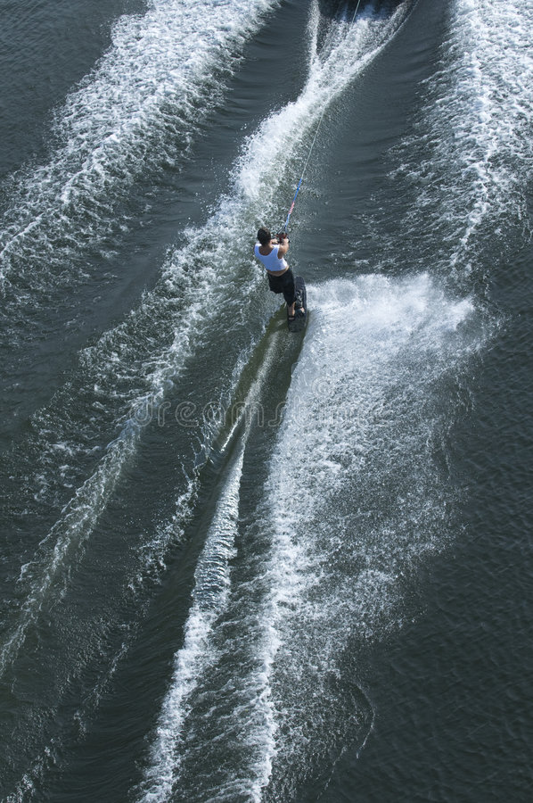 Download Waterskier in action stock photo. Image of active, rope - 7033718