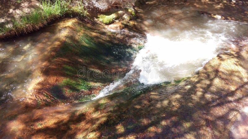 Waterslide στον κολπίσκο Kanarra στοκ φωτογραφίες με δικαίωμα ελεύθερης χρήσης