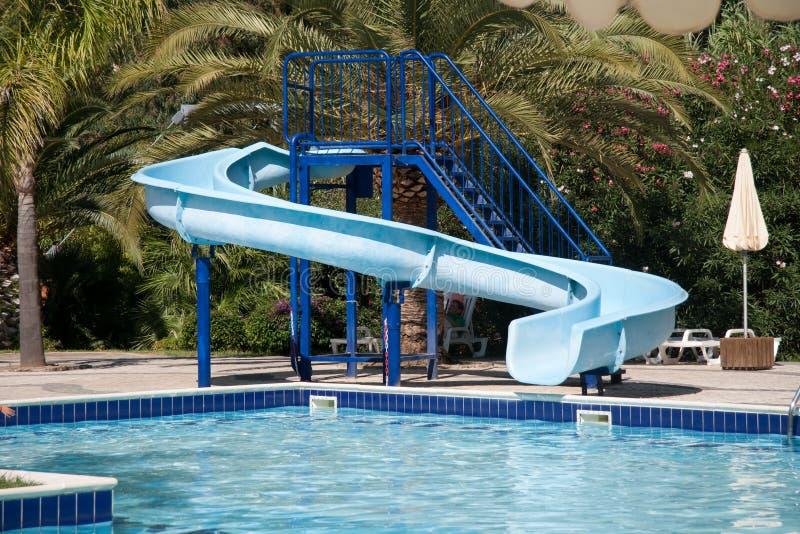 Download Waterslide stock photo. Image of outdoor, pool, slip - 11051268