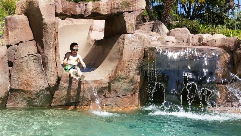 Download Waterslide stock image. Image of artificial, water, structure - 42486433