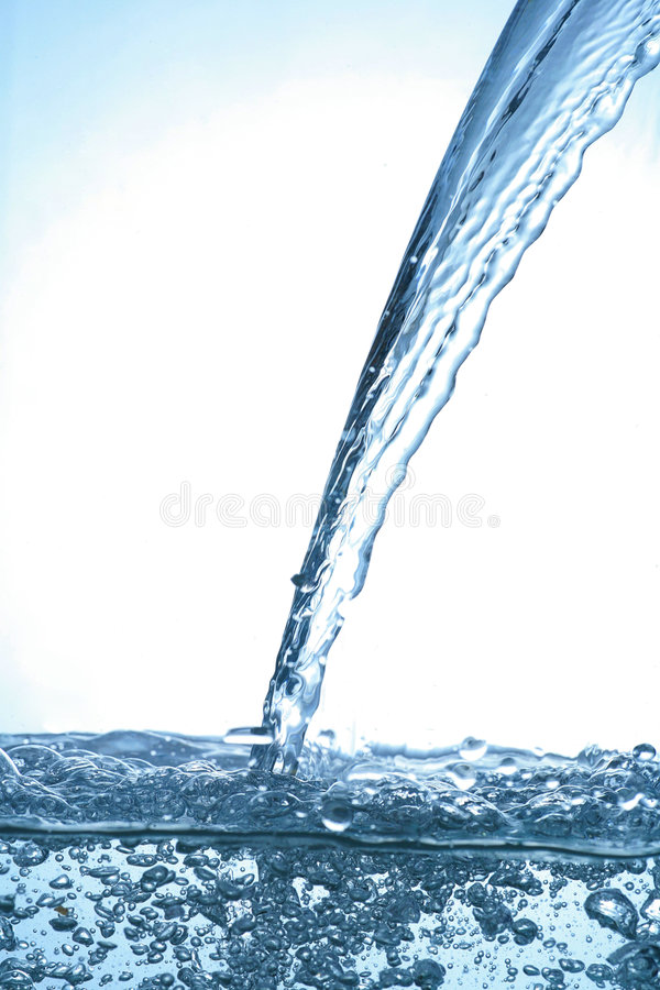 Watersplash images stock