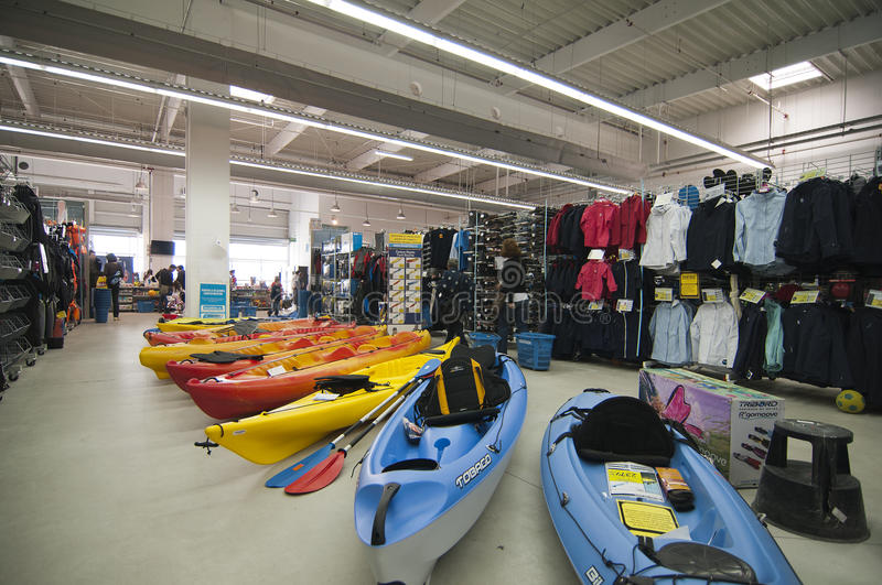 Download Watersports Area In Decathlon Store Editorial Image - Image: 24014375