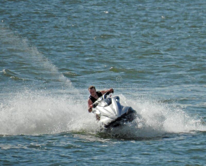 Watersports do esqui do jato fotos de stock
