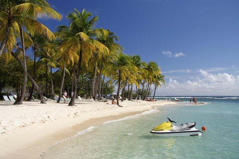 watersports karaibów obraz stock