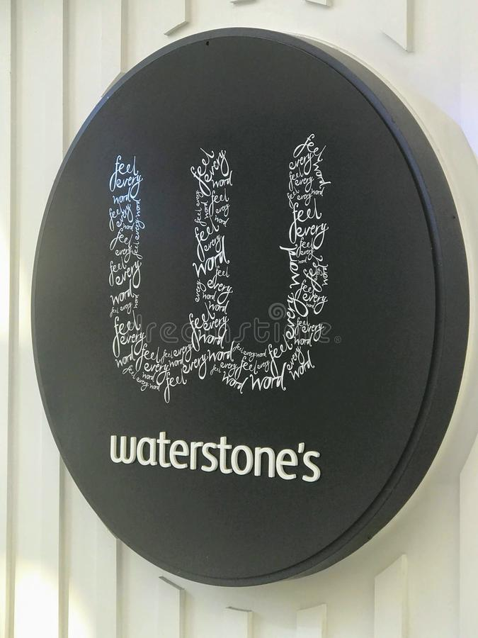 Waterstones storeï ¼ Œ伦敦 免版税图库摄影