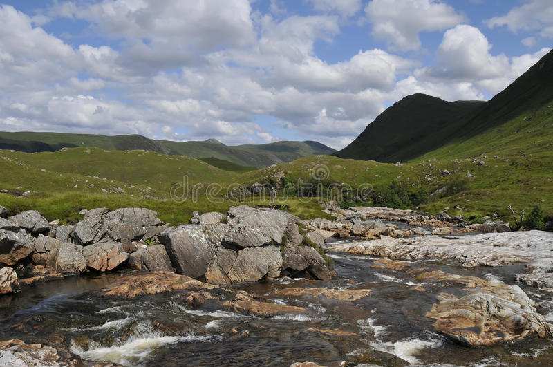 Download Waterstream Landscape Scotland Stock Image - Image of scenery, ripples: 10513985