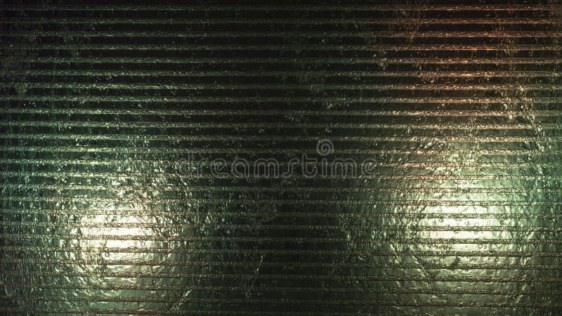 Waterstromen op het glas royalty-vrije stock foto's