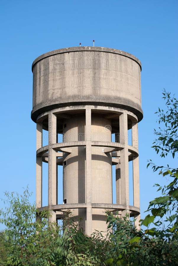 Watertank royalty-vrije stock fotografie