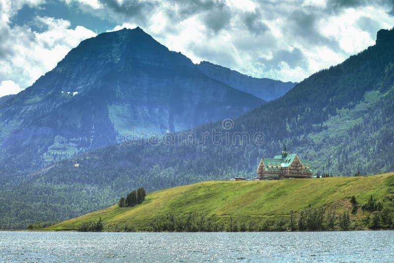 Waterton Lake royalty free stock image
