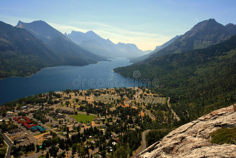 Download Waterton Lakes stock image. Image of scenery, nature - 21803975