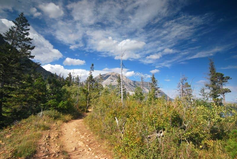 Waterton park narodowy w Kanada obraz stock