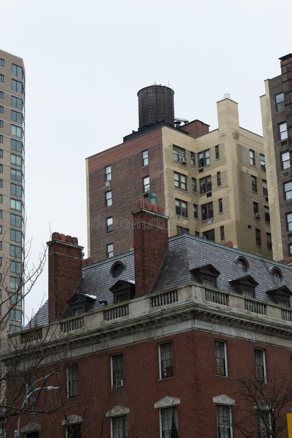 Watertoren onder de regen royalty-vrije stock foto's
