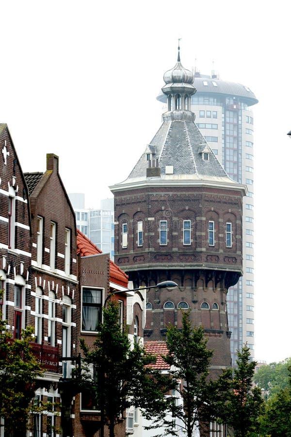 watertoren in Renaissancestijl stock afbeeldingen