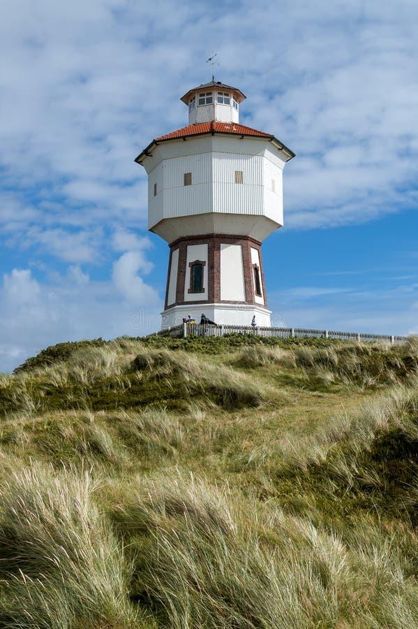 Watertoren van Langeoog, Duitsland royalty-vrije stock fotografie