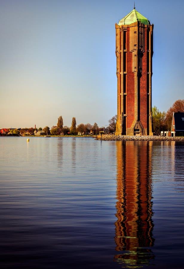 Watertower bei Aalsmeer stockbilder