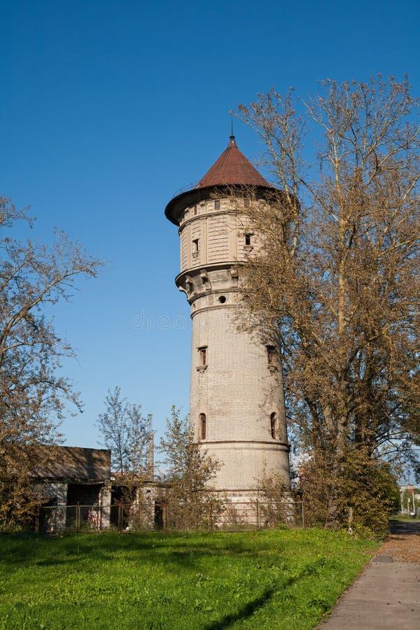 Watertower a Riga immagine stock libera da diritti